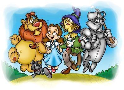 Los Personajes de El Mago de Oz
