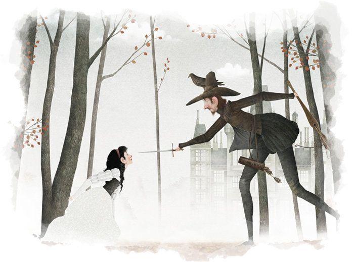 La madrastra y el cazador