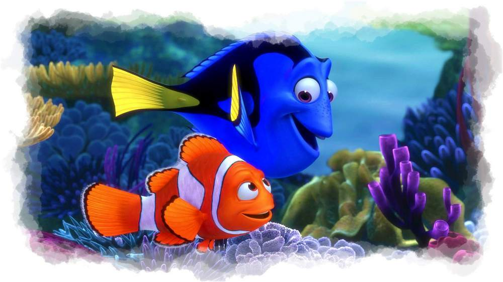 Dory y Nemo
