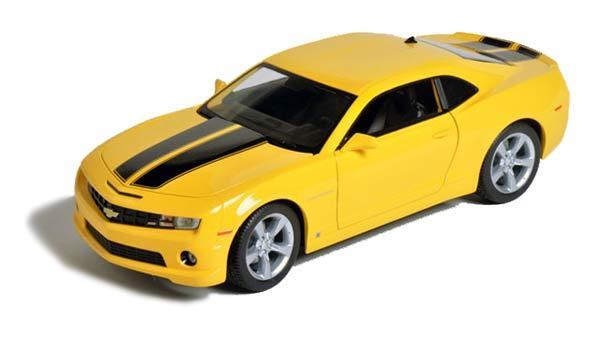 Camaro amarillo Bumblebee de juguete