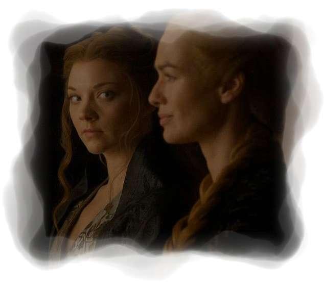 Margaery y Cersei, nuera y suegra