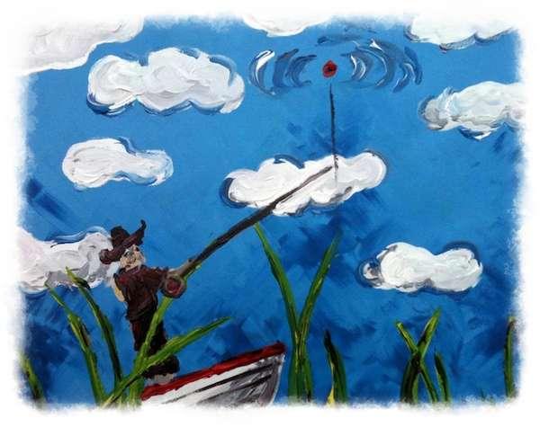Pescar en el cielo