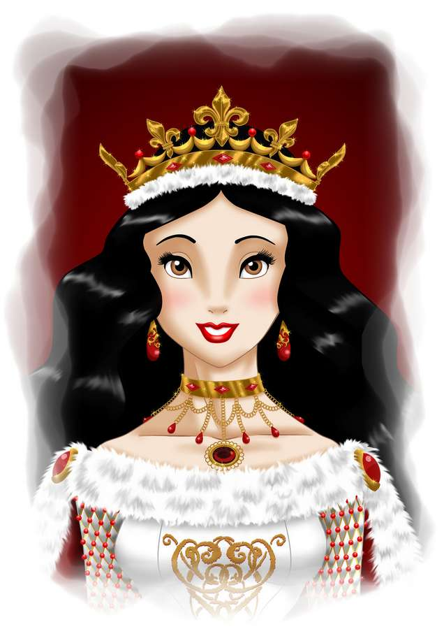 La reina Blancanieves