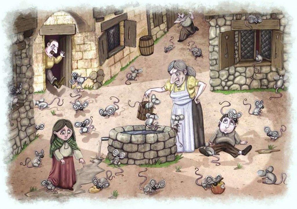 Hamelin infestada de ratas