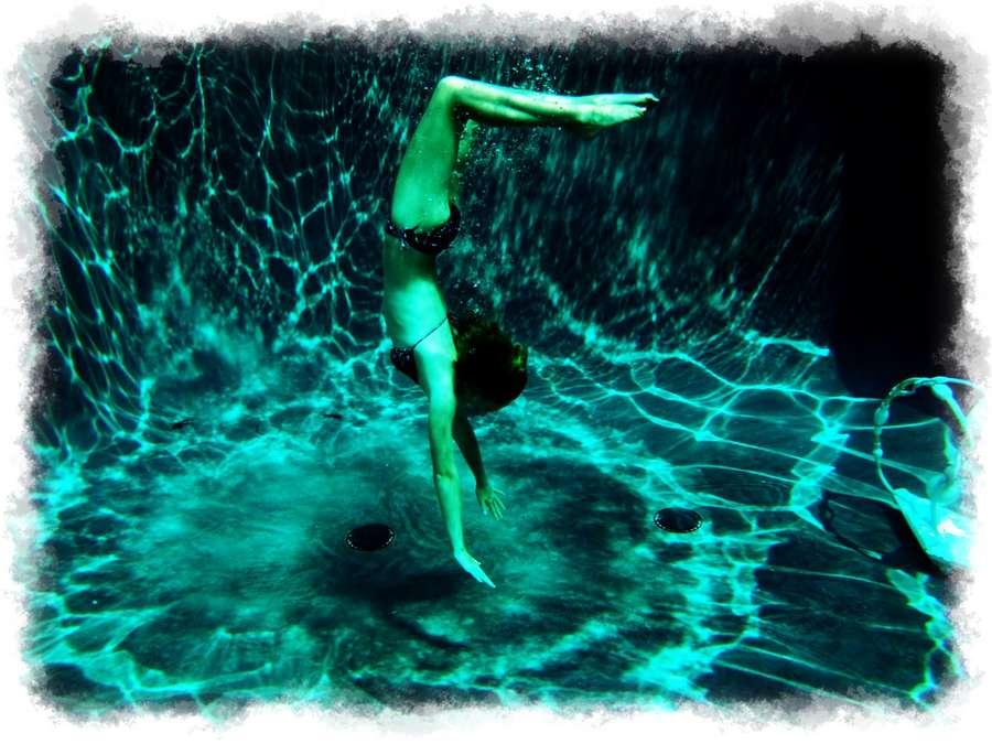 ejercicio bajo el agua