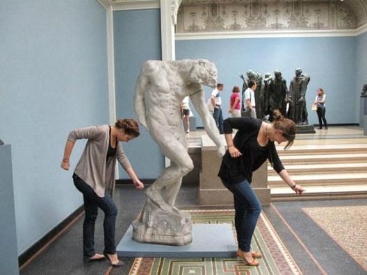 Diversión en el museo