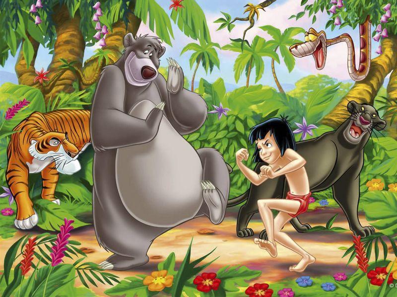 personajes de la selva