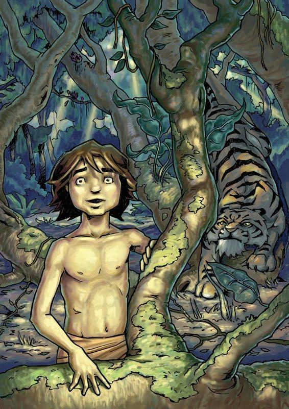 Mowgli y Shere Khan