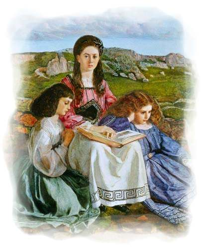 Las tres hermanas Liddell