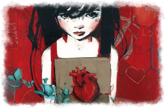 Blancanieves y el falso corazón