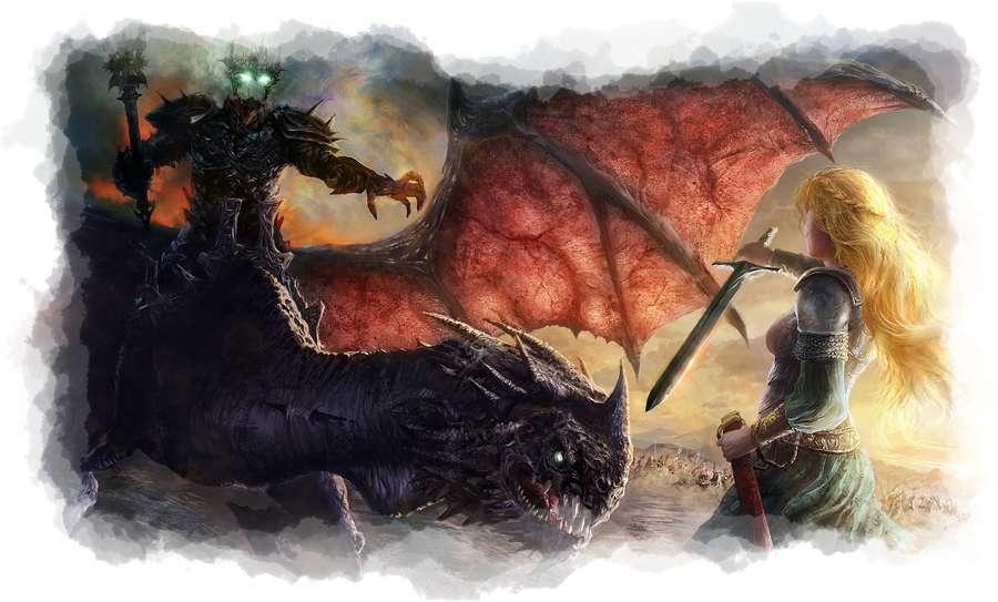 Eowen contra Nazgul
