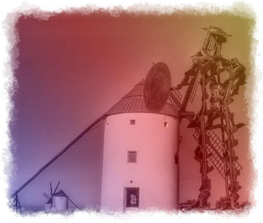 Molino de viento y el Quijote