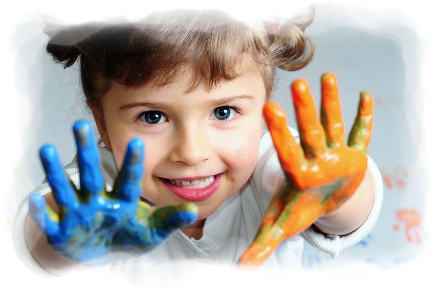 Pintar con las manos